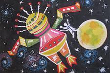 Автор: Кузнецова Мария   Космическая одиссея