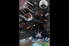 Автор: Ажимухан Кайсар   Космическая одиссея