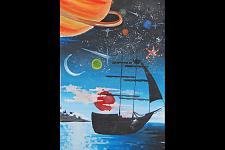 Автор: Сах Казбек   Космическая одиссея