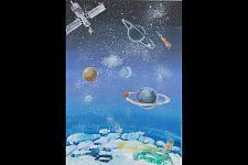 Автор: Маханов Султан   Космическая одиссея