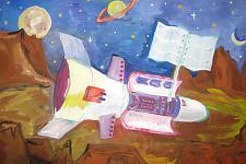 Автор: Кудашев Павел   Космическая одиссея