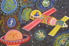 Автор: Колеватова Дарья   Космическая одиссея