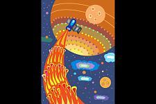 Автор: Гайфутдинова Саша   Космическая одиссея
