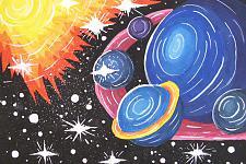 Автор: Францева Катя   Космическая одиссея