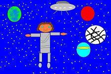 Автор: Ежова Дарья   Космическая одиссея
