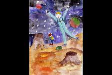 Автор: Аришина Евгения   Космическая одиссея