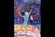 Автор: Агаджанова Ангелина   Космическая одиссея