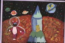 Автор: Струина Влада   Космическая одиссея