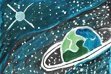 Автор: Лежнина Настя   Космическая одиссея