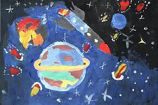 Автор: Мухин Никита   Космическая одиссея