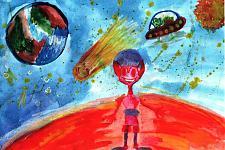 Автор: Рыболовлева Ирина   Космическая одиссея