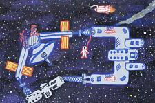 Автор: Летушова Анастасия   Космическая одиссея