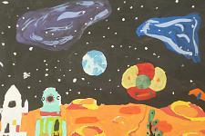 Автор: Шарапов Женя   Космическая одиссея