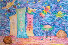 Автор: Бурханова Камила   Космическая одиссея