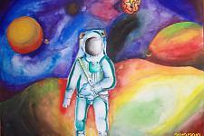 Автор: Кадыров Рамиль   Космическая одиссея