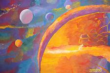 Автор: Бурангулова Алина   Космическая одиссея