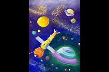 Автор: Балабух Алена   Космическая одиссея