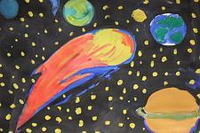 Автор: Зорина Аня   Космическая одиссея