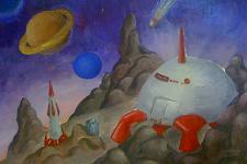 Автор: Акимова Настя   Космическая одиссея