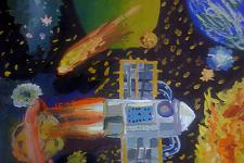 Автор: Позднякова Маша   Космическая одиссея