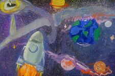 Автор: Юдина Лера   Космическая одиссея