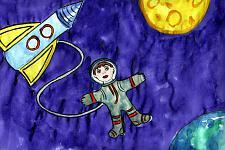 Автор: Балванов Андрей   Космическая одиссея