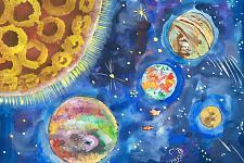 Автор: Шаповалова Аня   Космическая одиссея