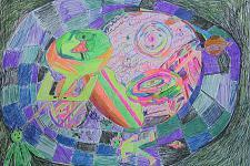 Автор: васильева настя   Космическая одиссея