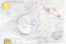 Автор: Солдатова Анастасия   Космическая одиссея