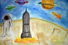 Автор: Балмасова Ульяна   Космическая одиссея