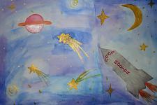 Автор: Талипова Резеда   Космическая одиссея