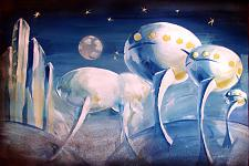 Автор: Магденко Валерия   Космическая одиссея