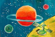 Автор: Пивоваров Руслан   Космическая одиссея