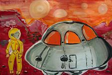 Автор: Спасова Николь   Космическая одиссея