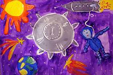 Автор: Таланова Наташа   Космическая одиссея
