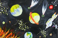 Автор: Арутюнян Артем   Космическая одиссея
