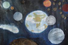 Автор: Демиденко Алина   Космическая одиссея
