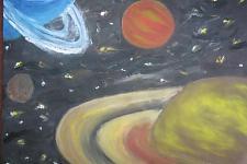 Автор: Орлик Алёна   Космическая одиссея