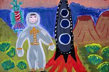 Автор: Старостина Варвара   Космическая одиссея