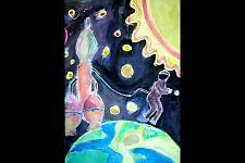 Автор: Мирошкина Надежда   Космическая одиссея