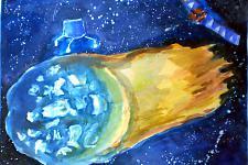 Автор: Гафиулова Альбина   Космическая одиссея