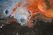 Автор: Меркель Виктория   Космическая одиссея