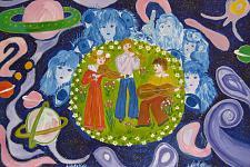 Автор: Подстреха Мария   Космическая одиссея