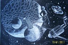 Автор: Закиуллина Валерия   Космическая одиссея