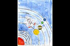 Автор: Груздева Евгения   Космическая одиссея