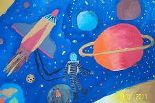 Автор: Попова Елизавета   Космическая одиссея