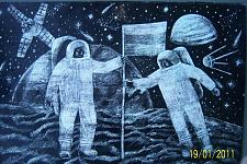 Автор: Серебрякова Юлия   Космическая одиссея