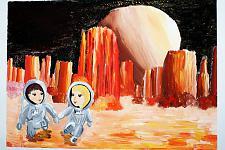 Автор: Суханова Виктория   Космическая одиссея