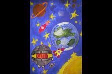 Автор: Копейко Алина   Космическая одиссея