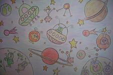 Автор: Николаева Даша   Космическая одиссея